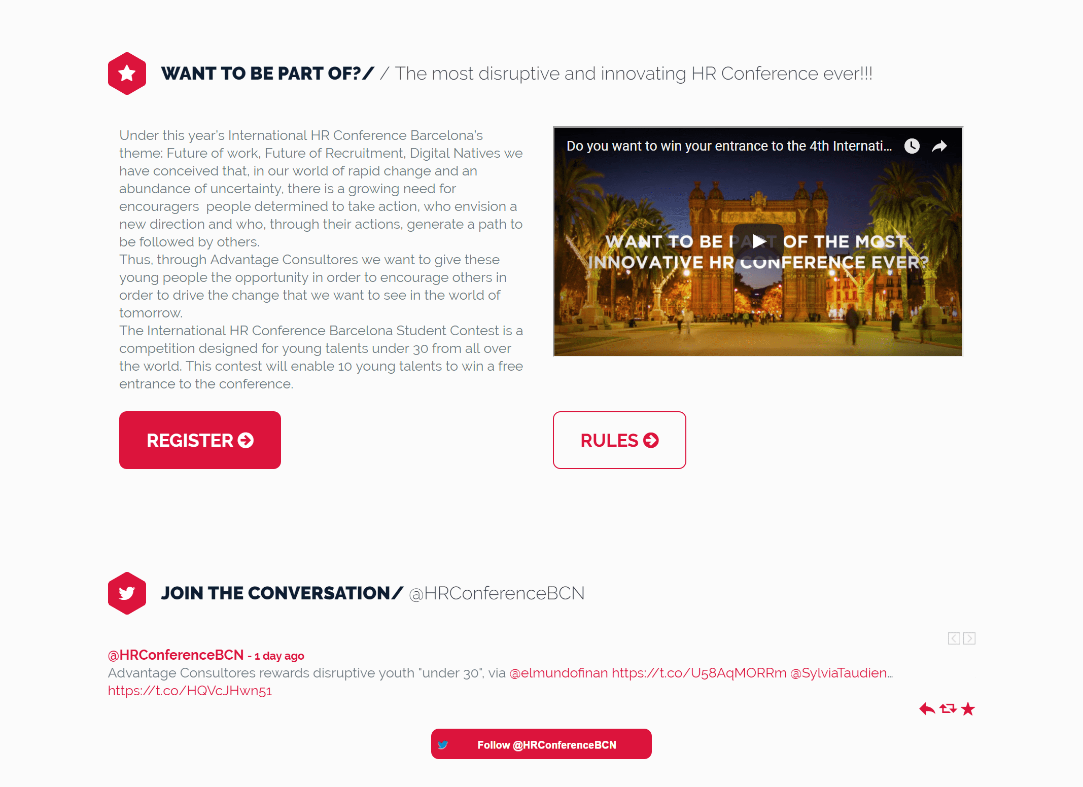 Young Contest – hrcon webdesign
